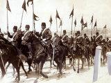 Turkish Cavalry in Constantinople during Balkans War, October 1912 Photographic Print