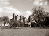 A View of Cardiff Castle Wales Photographic Print