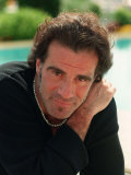 Tico Torres Drummer of Pop Group Bon Jovi and Boyfriend of Supermodel Eva Herzagova Fotografisk tryk