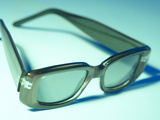 Green Sunglasses Photographic Print