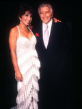 Shirley Bassey at the Royal Variety Show with Tony Bennett Photographic Print