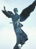 Angelic Statue - Montreal, Quebec, Canada Photographic Print