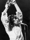 Peter Gabriel Ended His Tour in Paris at Festival Organised by the Communist Party, September 1977 Photographic Print