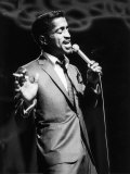 Sammy Davis Junior Rehearsing at the London Palladium Photographic Print