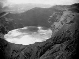 Lake in the Crater of the Volcano on Mount Soufriere in St. Vincent, 1968 Photographic Print