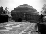 Exterior View of the Royal Albert Hall in London, 1951 Photographic Print