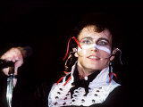 Adam and the Ants Singing Live in Concert, 1981 Photographic Print