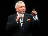 Frank Sinatra Sings in Concert Fotografie-Druck