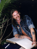 Lemmy from the Rock Group Motorhead Photographic Print