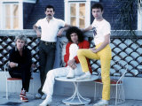The Rock Band Queen Photographic Print