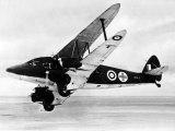 Raf De Havilland Dragon Rapide Dominie Configured as an Air Ambulance During WW2, 1942 Photographic Print