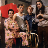 Ade Edmondson Rik Mayall Nigel Planer Christopher Ryan Who Star in the TV Programme the Young Ones Photographic Print