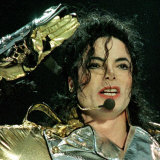 Michael Jackson in Concert at the Don Valley Stadium in Sheffield, 1997 Fotografie-Druck