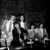 Rolling Stones Attend a Party to Promote Launch of 1968, New Album Photographic Print