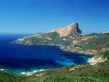 Capu Rossu Corsica Photographic Print