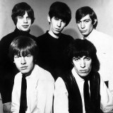 Rolling Stones Members Keith Richards Bill Wyman Mick Jagger Brian Jones Charlie Watts Fotografisk tryk