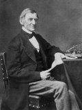 Ralph Waldo Emerson American Essayist and Poet Fotografie-Druck