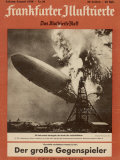The Hindenburg Disaster Impresso fotogrfica
