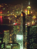 Cityscape of Hong Kong Photographic Print