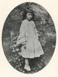 Alice Liddell Alice Liddell Aged About Ten Photographic Print by Lewis Carroll