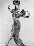 Carmen Miranda (Maria de Carmo Miranda de Cunha) American Singer Known as the Brazilian Bombshell Photographic Print