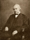 Joseph Lister English Surgeon Medical Scientist and Founder of Antiseptic Surgery Photographic Print by  Elliot & Fry