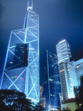 High Rise Buildings in Hong Kong Photographic Print