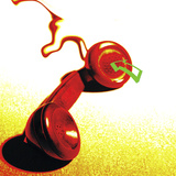 Red Telephone Receiver Photographic Print