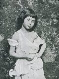 Alice Liddell Alice Liddell as a Beggar Girl Photographic Print by Lewis Carroll