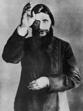 Grigori Rasputin Russian Mystic and Court Favourite in 1912 Lámina fotográfica