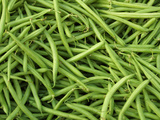 Green Beans Photographic Print