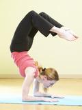 Woman Doing Yoga Photographic Print