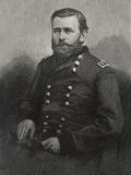 Ulysses S Grant American Civil War General and Later President Photographic Print