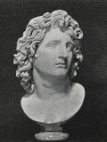 Alexander the Great King of Macedon Greece Depicted as a Sun-God Photographic Print