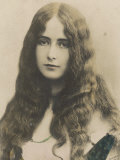Cleo de Merode French Actress and Dancer Who Became the Mistress of Leopold II of Belgium Photographic Print