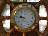 Nautical Clock Photographic Print