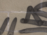 Close-up of Graffiti on Wall Photographic Print