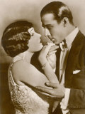 Gloria Swanson American Film Actress with Rudolph Valentino Photographic Print