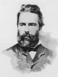 Herman Melville American Writer Photographic Print by  Dewey