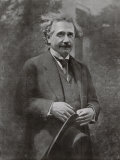 Albert Einstein Scientist During His Visit to Paris in 1922, Photographic Print