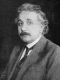 Albert Einstein German Born Physicist Photographic Print