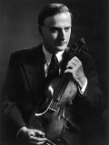 Yehudi Menuhin Violinist as a Young Man Fotografie-Druck