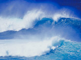 An Ocean Wave in Hawaii Photographic Print