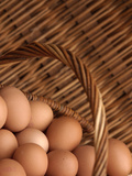 Basket of Eggs Lámina fotográfica