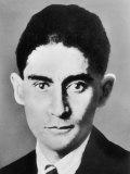 Franz Kafka, Czech Writer, Giclee Print