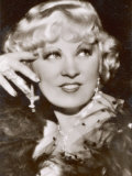Mae West American Film Actress and Sex Symbol Lmina fotogrfica