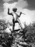 The Peter Pan Monument was Erected Photographic Print by J. Chettleburgh