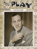 """Noel Coward at the Time of His Play """"Cavalcade"""" in 1931 Photographie"""