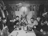 Amundsen and Others in Their Winter Quarters at the South Pole Photographic Print