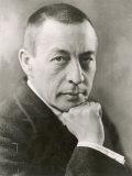 Sergei Rachmaninov Russian Composer Fotografická reprodukce